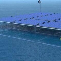 Πλωτή πλατφόρμα συλλογής ενέργειας από τον αέρα, τον ήλιο και τα κύματα