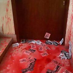 Θεσσαλονίκη: Αντιεξουσιαστές επιτέθηκαν με μπογιές στο γραφείο της Άννας Ευθυμίου (ΦΩΤΟ)