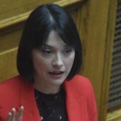 """Νάντια Γιαννακοπούλου: «Ο ΣΥΡΙΖΑ στον κόσμο του και το ΚΙΝΑΛ συχνά σε ρόλο αξιωματικής αντιπολίτευσης. Ευθύνη της ηγεσίας να βρει γιατί δεν """"εισπράττουμε"""".»"""