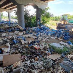 Λαχανόκηποι Θεσσαλονίκης: Καθαρίζεται απέραντος μπαζότοπος με 7.000 τόνους σκουπιδιών (video)